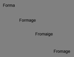 From the very beginning The etymological roots of the word 'fromage' (cheese)