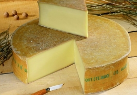 Fabrication and maturing of each type of cheese Cooked, pressed cheeses