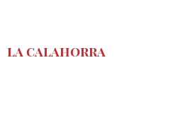 Cheeses of the world - La Calahorra