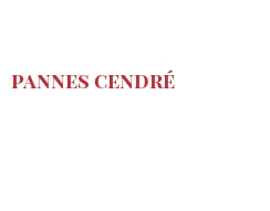 Cheeses of the world - Pannes cendré