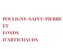 Recipe Pouligny-Saint-Pierre et fonds d'artichauds