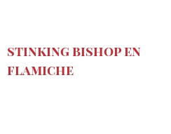 Recipe Stinking Bishop en flamiche