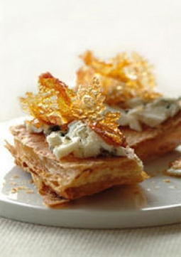 Recipe Roquefort puff pastries