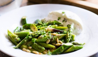 Recipe Burrata et asperges
