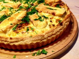 Recipe Livarot en tarte Colonel