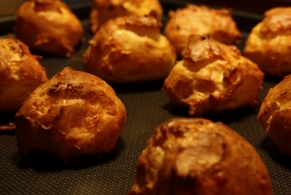 Recipe Langres en profiteroles