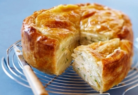 Recipe Bleu du Vercors-Sassenage en tourte