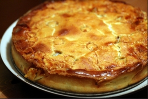 Recipe Roquefort en tourte Jean Fithon