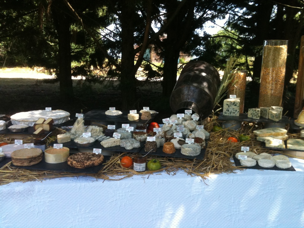 Cheese platters for weddings