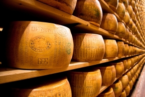 Stories and legends of some well-known cheeses Parmigiano: part of Italian history