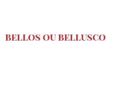 Cheeses of the world - Bellos ou Bellusco