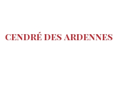 Cheeses of the world - Cendré des Ardennes