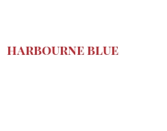 Cheeses of the world - Harbourne Blue