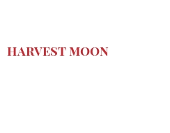Cheeses of the world - Harvest moon