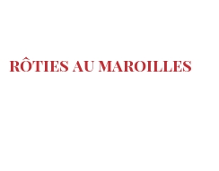 Recipe Rôties au Maroilles